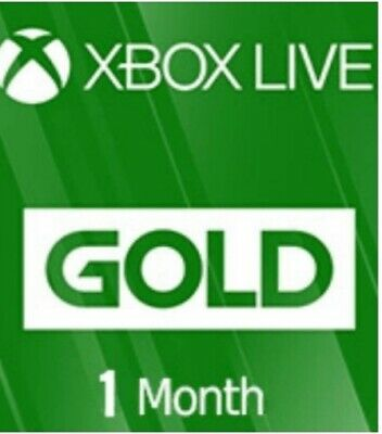 Xbox Live 1 Month Gold Membership (2x14 Day Trial) Fast DIGITAL Code.