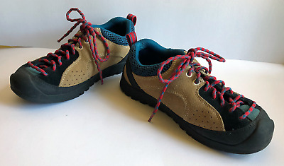 d57bb0854a4 KEEN JASPER HIKING Shoes Purple Suede Green Climbing Women's US 10.5 ...