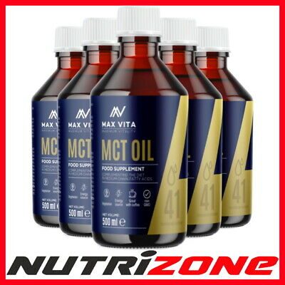 MCT OIL 100% Pure Fatty Acids Energy Source Diet Weight Fat Loss Stimulant 400ml
