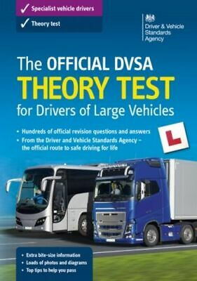 Official Dvsa Theory Test For Large Goods Vehicles Driver And Vehicle Stand NEW