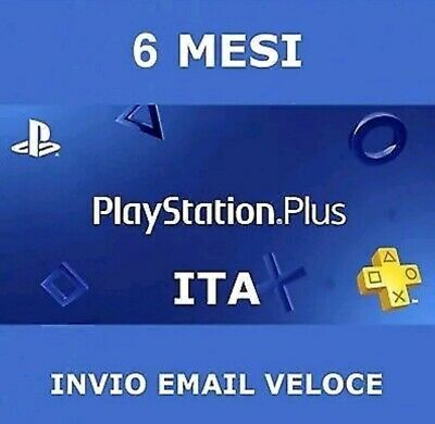 PS Plus PSN PlayStation Plus 6 mesi(+1MESE GRATIS) 5€!!! PS4 abbon NO TRUFFA