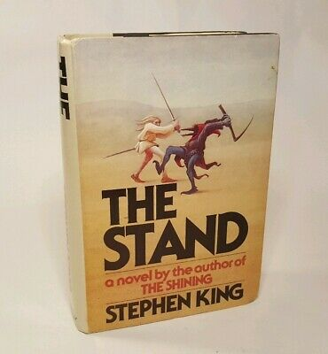 Stephen King The Stand Hardcover Book 1st First Edition Dust Jacket BCE