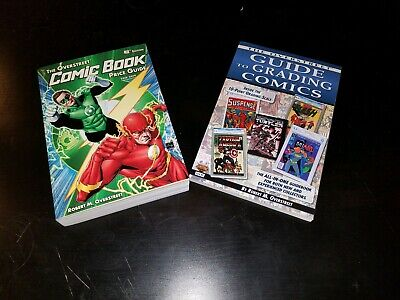OVERSTREET Comic Book Price Guide (2018-19) & Overstreet Guide to Grading Comics