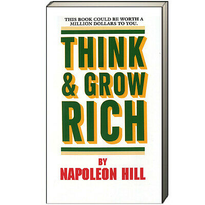 Think and Grow Rich by Napoleon Hill (Mass Market Paperback) NEW