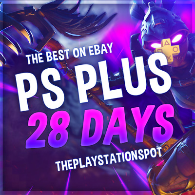 PS PLUS 1 MONTH - (2x14) - FAST DELIVERY - SENT NOW (NO CODE) - WORKS WORLDWIDE