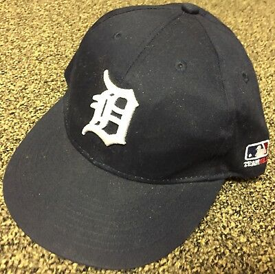 newest 3bc40 6034a ~Detroit tigers~ MLB OC Sports Hat Cap Solid Blue D Logo Team Adjustable  Youth