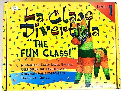 La Clase Divertida The fun class! Basics of the Spanish Language Level 1 ages 5+