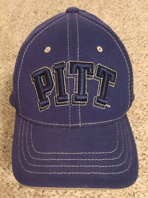 san francisco b6b3b 9fa40 Pittsburgh Panthers PITT ~ NCAA Flex Fit ZEPHYR Adult M L Navy Cap