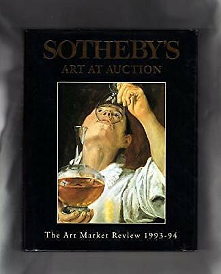 Sothebys Art at Auction: The Art Market Review 1993-94, Ian Fleming, Used; Good