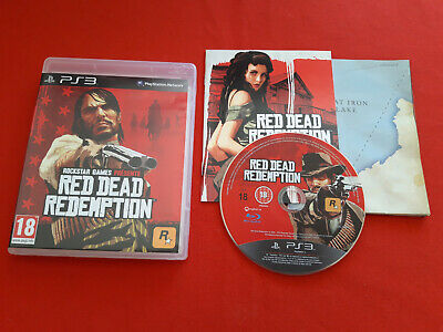 Red Dead Redemption Rockstar PLAYSTATION 3 PS3 Sony Pal VF Completo