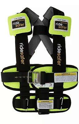 Ride Safer Delight Travel Vest, Small Yellow – Includes Tether