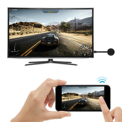 Miracast 1080P WiFi Display Receiver Wireless HDMI TV Dongle AH366