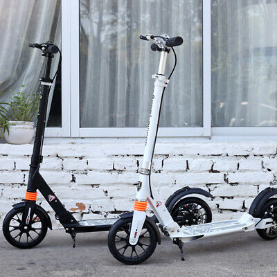 Scooter Push  Disc Brake Folding Dual Wheels Supension Adult Commuter Child