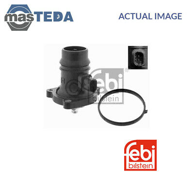 febi bilstein 46578 Thermostat with housing pack of one seal and temperature switch