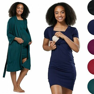 HAPPY MAMA Women's Maternity Nightie / Pyjamas /Robe SOLD SEPARATELY 1079