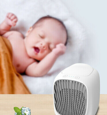 Air conditioning fan chiller small air conditioner desktop chiller home