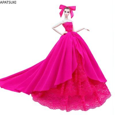 """3pcs/lot Random Fashion Doll Clothes For 11.5"""" Doll Dress Party Gown 1/6 Kid Toy"""