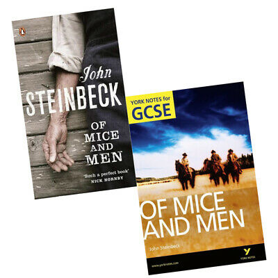 Of Mice and Men: York Notes for GCSE,Penguin Red Classics 2 Books Collection Set