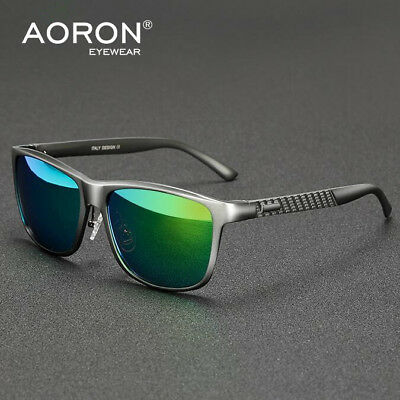 39a70c3111 Mens HD Polarized Aluminium Sunglasses Outdoor Driving Sun Glasses Sport  Eyewear