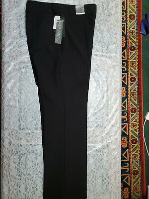 d330309c3f NWT Covington Women's Black Stretch Straight Fit/Leg Dress Pants Size 12S  619