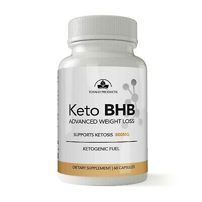 Keto BHB Advanced Weight Loss Pills Capsules Keto Diet/ Burn Fat/Ketosis 800mg