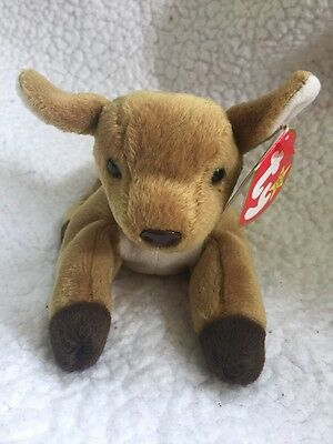 EXTREMELY RARE Ty WHISPER Beanie Baby ERROR Hang Tag 1997 - Tush Tag 1998