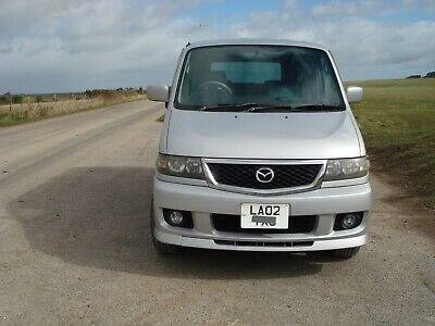 mazda bongo 2.5 v6 tin top in silver with l.g.p. conversion reg 2002
