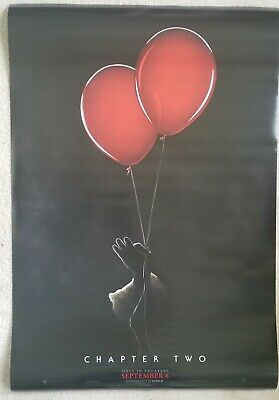 IT CHAPTER TWO 2 MOVIE POSTER 2 Sided ORIGINAL Advance 27x40 STEPHEN KING