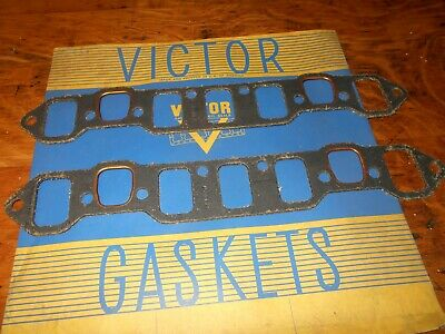 NORS Intake Manifold Gaskets 1955 Plymouth V8 1953-55 Dodge Pass. 1954-56 Truck