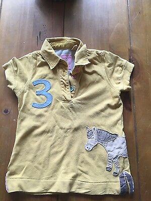 Girls joules polo top 4 years