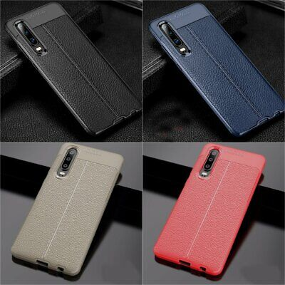 For Huawei P30 P20 Mate 20 Pro Lite Slim Leather Shockproof Soft Slim Case Cover