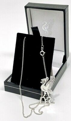 Liverpool Fc Football Club Sterling Silver Crest Chain Necklace Lfc Jewellery
