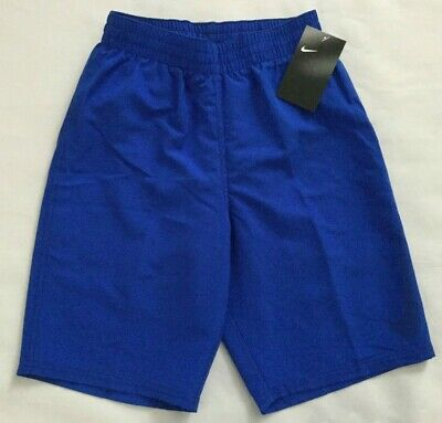 b50a06442a7e5 NWT Boy's Nike Swoosh Volley Swim Board Shorts Trunks NESS9717 Small MSRP  $38