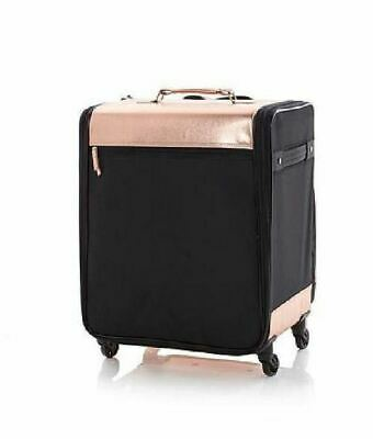 Debbee Flip 'N Pack Expandable Rolling Craft Storage Case Rose Gold NWT