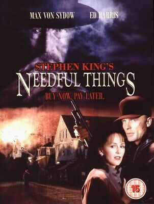 Stephen King Chiller Dvd – Needful Things – Ed Harris & Max Von Sydow