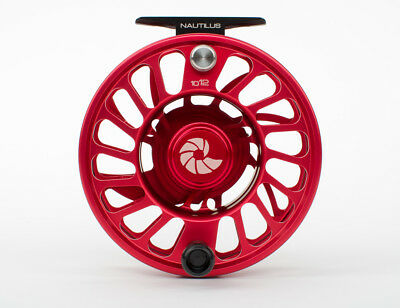 New Nautilus Ccf-X2 6/8 #6/7/8 Fly Reel Rare Custom Red-- Free U.s. Shipping