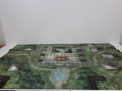 Dungeons And Dragons Battle Grid Dd Game Mat 24 Quot X 36 Quot Dnd