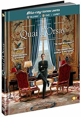 Quai d'Orsay [Combo Blu-ray + DVD - Edition Limitee Digibook] Pathe PATHE