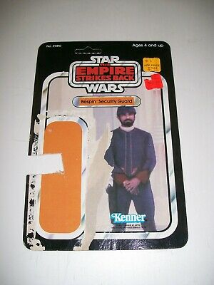 "1980 Kenner Star Wars 3 3//4/"" 1//18 scale Bespin Security Guard White SW-215"