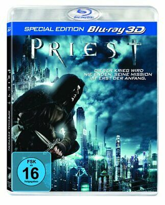 Priest-3d Version [Blu-ray] Sony Pictures Home Entertainment Gmbh Paul Bettany