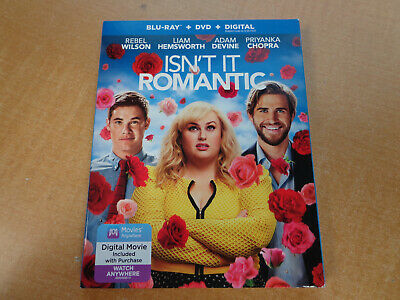 NEW! Isn't It Romantic (2019 BluRay DVD Digital) FAST FREE SHIPPING!