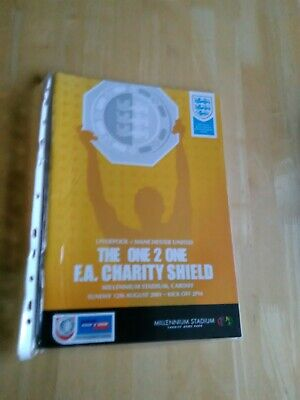 2001 Liverpool V Man Manchester United - Charity Community Shield @ Cardiff