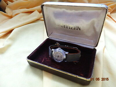 1931 CITIZEN IMPERIAL JAPAN ARMY 1930's  WRIST Cal F WW2 OVERHAULED BOX 3 BANDS