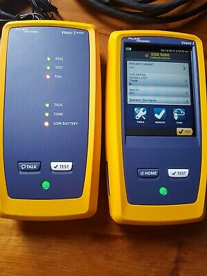 Fluke Dsx2-5000 Network Analyzer!