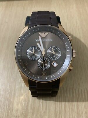 Emporio Armani Mens Watch AR5890 Comes With Certificate Of Authenticity