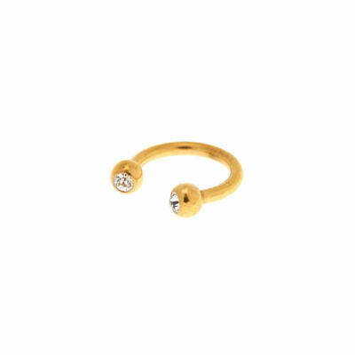60bbb2218 Claire's Girl's Gold Titanium 16G Horseshoe Cartilage Hoop Earring