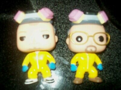 "Guc ""Funko Pop""- Breaking Bad - Walter White & Jesse Pinkman No Box Rare A Must"