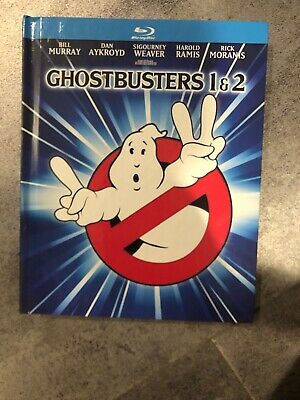 Ghostbusters/Ghostbusters 2 (Blu-ray Disc, 2014, 2-Disc Set, Mastered in 4K...