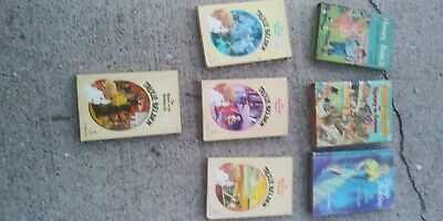 Trixie Belden lot of 7 Vintage H Books 1950-1965  VG used good condition.
