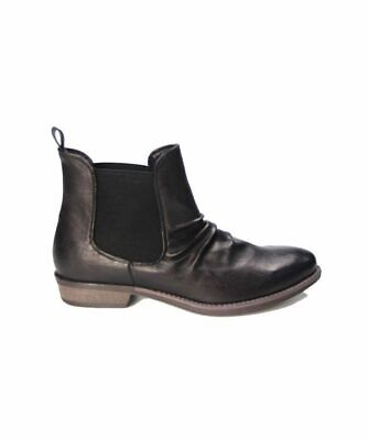 Therapy Redwood Black Chelsea Boot Casual Dress Formal Shoes Womens